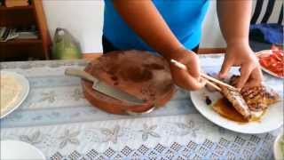 How to make grilled chicken wrap