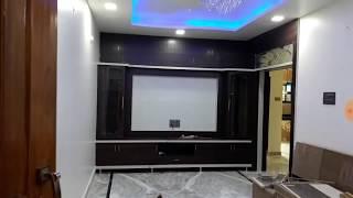 2bhk 25 X 35 house plan interior design