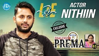 Lie Actor Nithiin Exclusive Interview    Dialogue With Prema #63    Celebration Of Life #469