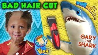 NICE HAIRCUT CHASE! hahaahahah FUNnel V Vlog Skit