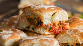 Chorizo Meatball Sliders As Made By Aarón Sanchez