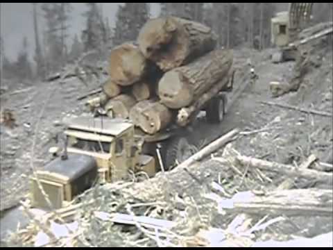 Old Logging footage Part II