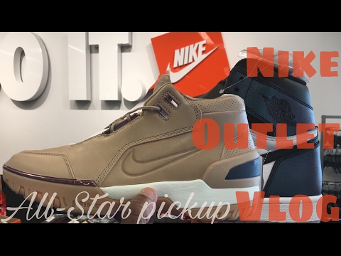 Nike & Adidas Outlet Vlog | All-Stars at outlet