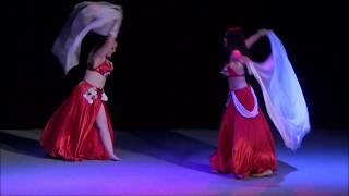 ANNIDIA - Duo Peťa a Terka - Raqs Sharqi (Podvečer v Orientu 2018)