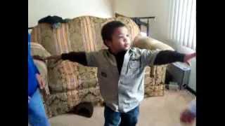dancing kids...