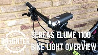 Serfas Elume 1100 bike light overview
