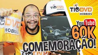 DRONE NA FAIXA! COMEMORAÇÃO 60K INSCRITOS TIO DVD HOBBIES