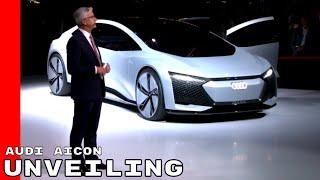 Audi Aicon Unveiling