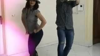 رقص بسیار زیبای کامی و ساناز