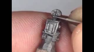 Turning Pencil Tips Into Mini Sculptures amazing art