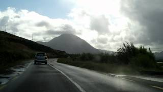 Drive Through Gweedore, Co. Donegal