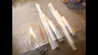 Homemade hotwire cutter. Hjemmalget kutter for isopor/styrox.