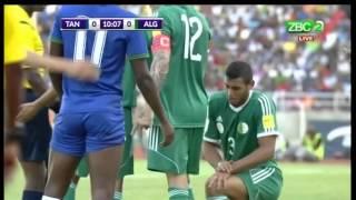 Tanzania Vs Algeria, first half