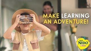 Make Learning an Adventure Bumper   NIDO FORTIGROW   Nestlé PH