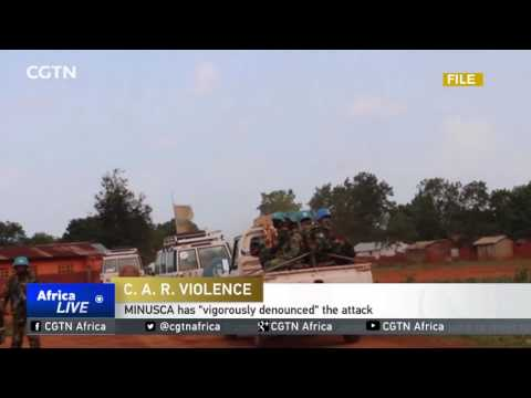4 UN peacekeepers killed during attack in the CAR, 8 others wounded