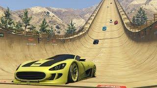 SUPER RAMPA IMPOSIBLE!! - CARRERA GTA V ONLINE - GTA 5 ONLINE