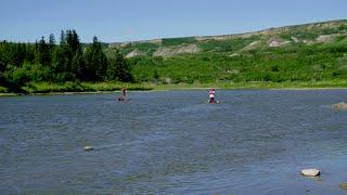 Woods Canada's Greatest Explorer - Challenge 8: The Red Deer River Race