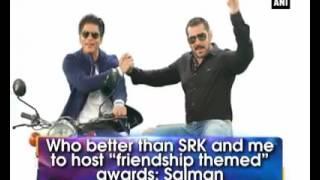Salman  Khan and SRK friendship video #must watch!!