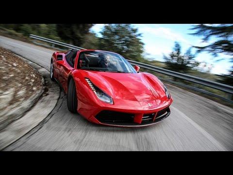 Ferrari 488 Spider notre premier essai exclusif et toutes les infos VIDEO