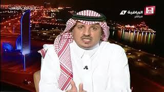 علي الزهراني - أشكر هيئة الرياضة على كبح جماح الإعلام المتعصب #برنامج_الملعب