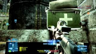 rivaLxfactor and the squad up crew vs a HACKER (battlefield 3 gameplay and footage)