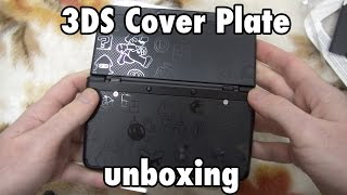 New Nintendo 3DS Cover Plate No. 005 unboxing 任天土 きせかえプレート 開封