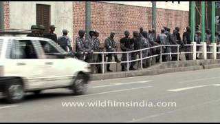 Nepal Armed Force, on duty in Kathmandu