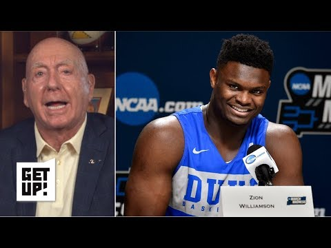 Xxx Mp4 Zion 39 Has Saved College Basketball This Year 39 Deserves To Get Paid Dick Vitale Get Up 3gp Sex