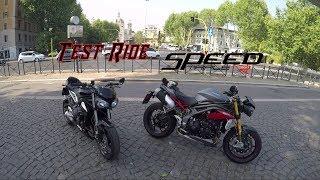 Recensione - Test Ride Triumph Speed Triple R 2017 - '3 cilindri' IL NUMERO PERFETTO?!