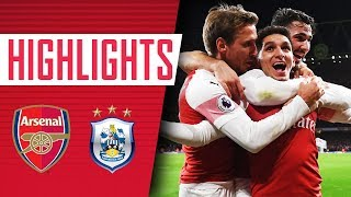 TORREIRA TO THE RESCUE | Arsenal 1 - 0 Huddersfield Town | Goals and highlights
