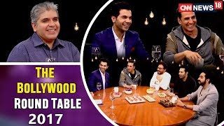 The Actors: The Bollywood Round Table 2017 with Rajeev Masand | CNN-News18