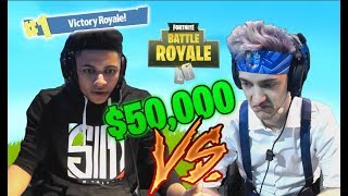 *NINJA & MYTH* FIGHTS FOR 50,000$ at LAS VEGAS TOURNAMENT - FORTNITE FUNNY & EPIC MOMENTS!