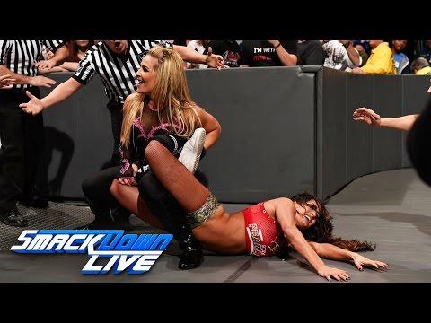 Nikki Bella vs. Natalya: SmackDown LIVE, Jan. 10, 2017