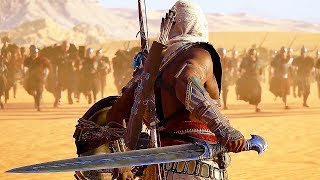 Assassin's Creed: Origins All Cutscenes Movie