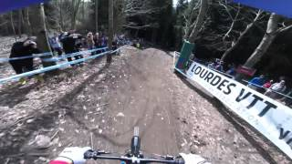 Gee Atherton | UCI Downhill 2016 | Lourdes, France