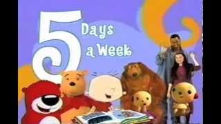 Playhouse Disney promo - 5 Days A Week (2003)