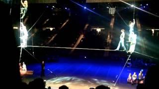 Ringling Bros Barnum 200-tightrope walkers