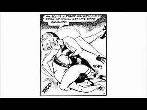 Gene Eneg Bilbrew Women Wrestling Catfight Comics