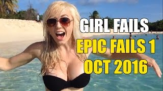 Funniest epic girl fails Oct 2016 on youtube | 2 min