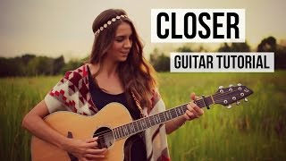 Closer - The Chainsmokers feat. Halsey // Guitar Tutorial