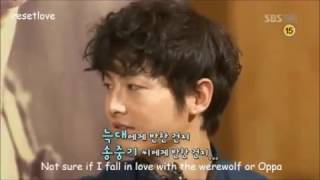 song joong ki park bo young a werewolf boy