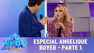 Domingo Legal (16/07/17) - Especial Angelique Boyer - Parte 1