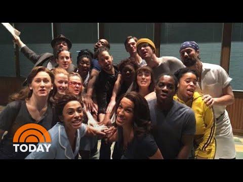 Xxx Mp4 Sara Bareilles And The Cast Of Waitress Celebrate Al Roker TODAY 3gp Sex