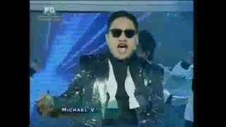 Eat BulaGANGNAM STYLE - Michael V. as Filipino PSY