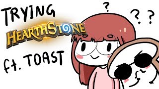 Lily plays (learns?) Hearthstone :D ft. DisguisedToast