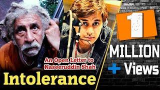 Intolerance | Open Letter to Naseeruddin Shah | RJ Raunac | New 2019 | Bauaa