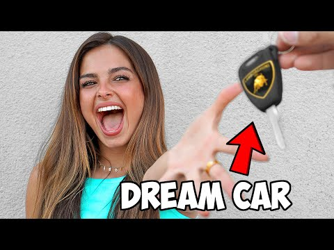 Surprising Addison Rae With A Custom Car 🚘 🚗 ft. Tik Tok ZHC