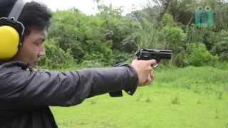 Senjata api  | Handgun | P2 Pindad | iseng nyoba disela shooting profil satuan yonif 301
