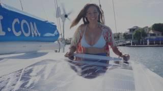 Sailing Nandji - Ep 32, Installing Solbian flexible solar panels