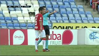 27/08/2017 Resumen del partido, Recreativo de Huelva - Real Murcia